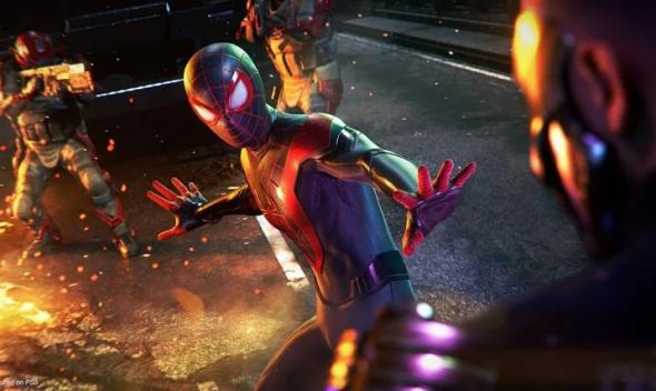 آپدیت روز عرضه Marvel s Spider-Man: Miles Morales حجم بالایی خواهد داشت