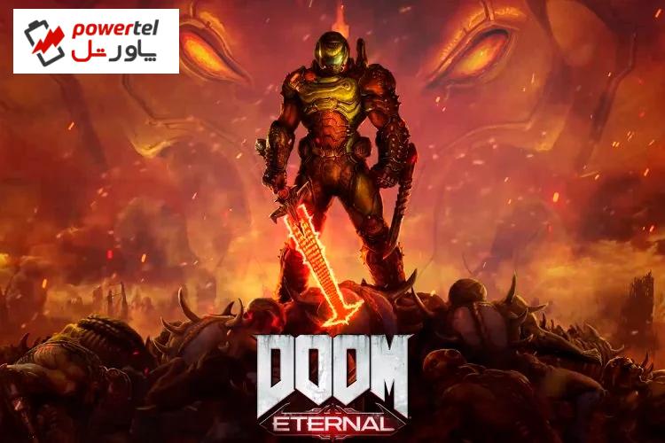 اجرای بازی Doom Eternal بر روی یخچال