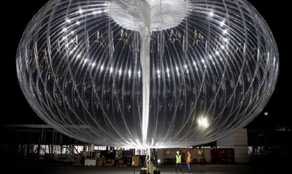 بالون اینترنتی شرکت لون رکورد پرواز را زد