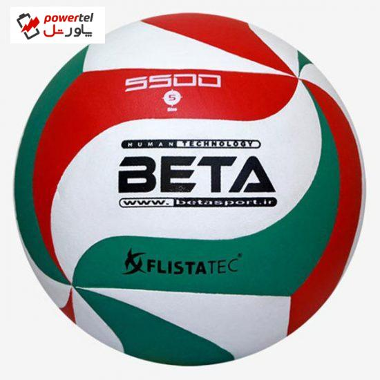 توپ والیبال بتا مدل PVL5500 سایز 5