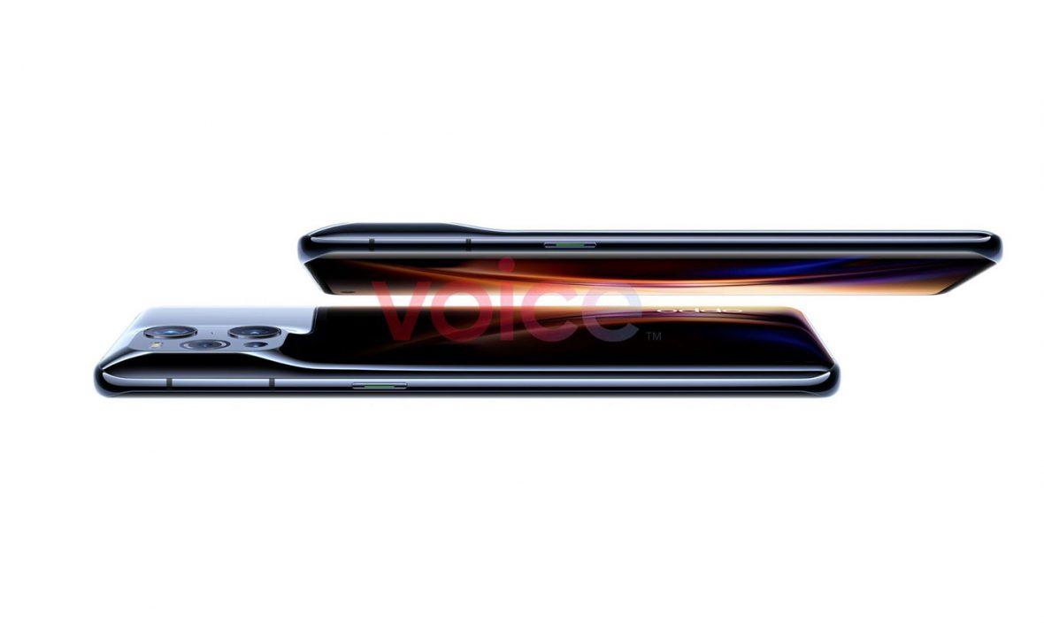 رندر سه گوشی اوپو X3 Lite ،Find X3 Pro و X3 Neo منتشر شد