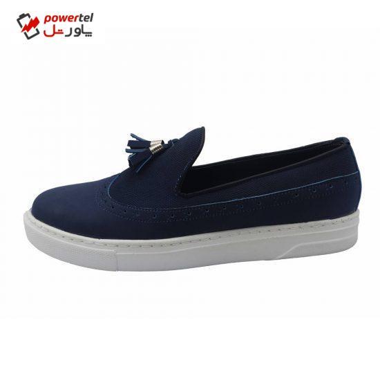 کفش روزمره مردانه مدل   آرکا کد A76 رنگ سرمه ای