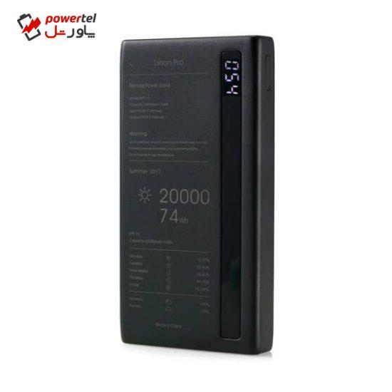 شارژر همراه ریمکس مدل RPP-73 Linon Pro ظرفیت 20000 میلی آمپر ساعت