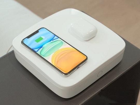 شارژ گوشی همراه با کشتن باکتریها