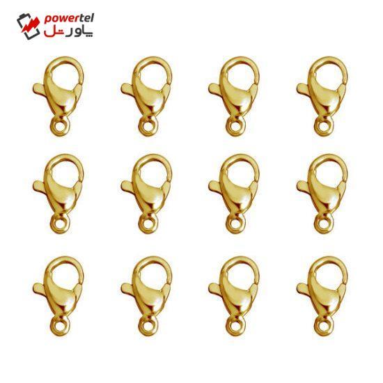 قفل طوطی مدل maiya 104 - 12 بسته 12 عددی
