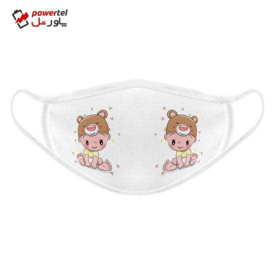 ماسک تزیینی بچگانه طرح نوزاد کد 617015