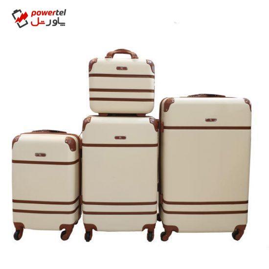 مجموعه 4 عددی چمدان پی کی کد B002