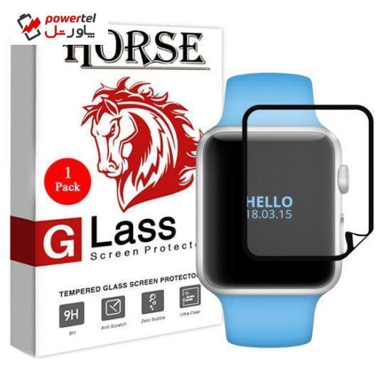 محافظ صفحه نمایش نانو  هورس مدل MNH مناسب برای ساعت هوشمند اپل واچ 38 میلی متری