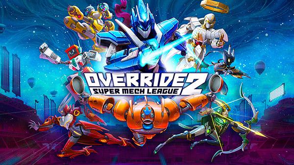 نسخه جدید بازی Override 2: Super Mech League معرفی شد