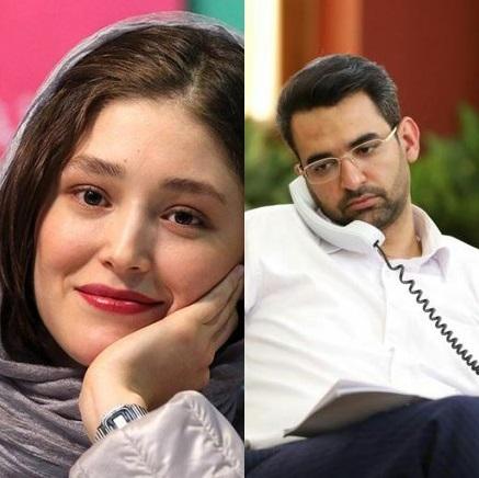 واکنش وزیر ارتباطات به گلایه خانم بازیگر