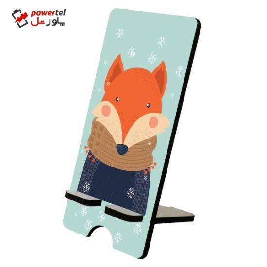 پایه نگهدارنده گوشی موبایل پرسناژ مدل روباه فانتزی p2