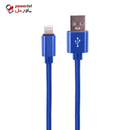 کابل تبدیل USB به لایتنینگ مدل PB-i30 طول 0.3 متر