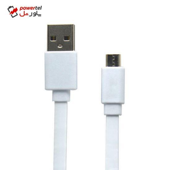 کابل تبدیل USB به microUSB مدل SP-123 طول 0.18 متر