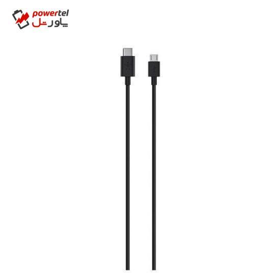 کابل تبدیل USB-C به microUSB بلکین مدل F2CU033BT06 طول 1.8 متر