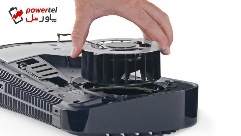 کالبدشکافی پلی استیشن ۵ و کنترلر دوالسنس توسط iFixit