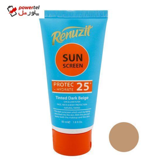 کرم ضد آفتاب رینوزیت مدل َAB25 حجم 50 میلی لیتر
