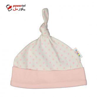کلاه نوزادی دخترانه بی بی ناز مدل 1501481-0184