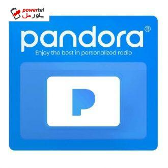 گیفت کارت ۳ ماهه پاندورا مدل PDR3