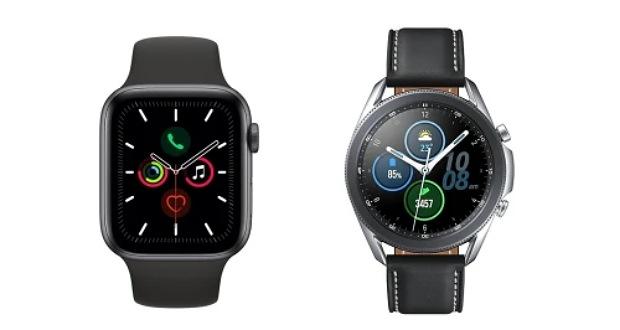مقایسه گلکسی واچ ۳ سامسونگ با ساعت هوشمند اپل واچ سری ۵