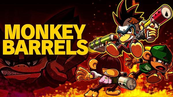 تاریخ انتشار نسخه فیزیکی بازی Monkey Barrels مشخص شد
