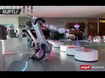 کافی شاپ تمام رباتیک