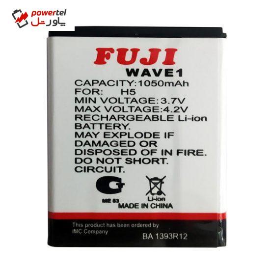 باتری موبایل مدل FUJ2 ظرفیت 1050 میلی آمپر ساعت مناسب برای گوشی موبایل سامسونگ S8500 Wave