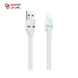 کابل تبدیل USB به Lightning هوکو مدل U14 steel به طول 1.2 متر