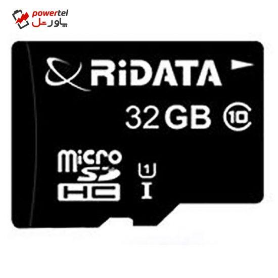 کارت حافظه MicroSDHC ری دیتا کلاس 10 استاندارد UHS-I U1 سرعت 50MBps ظرفیت 32 گیگابایت