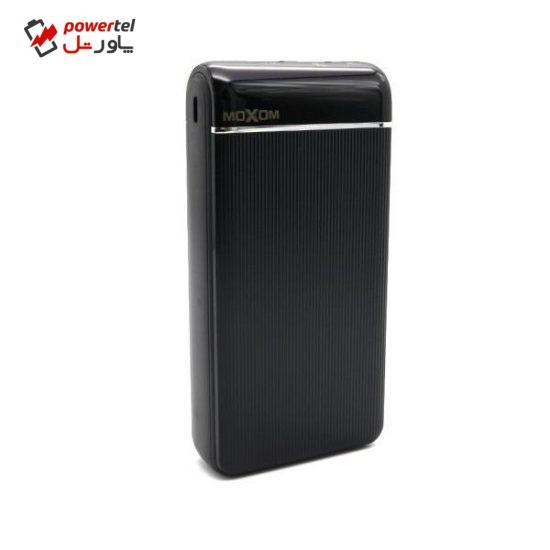 شارژر همراه موکسوم مدل MX-PB29 ظرفیت 20000میلی آمپر ساعت