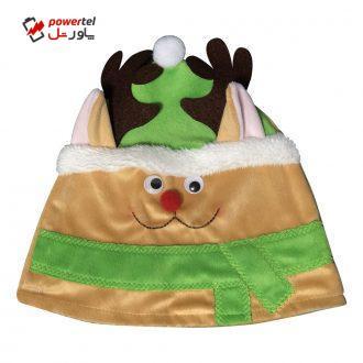 کلاه بچگانه طرح گوزن مدل کریسمس