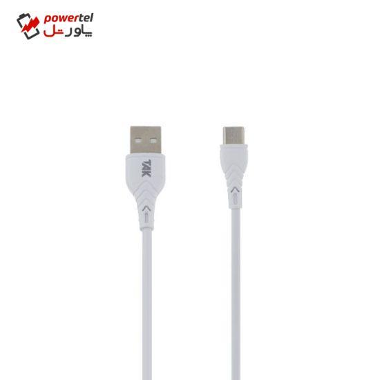 کابل تبدیل USB به USB-C تک مدل CK-120 طول 1 متر