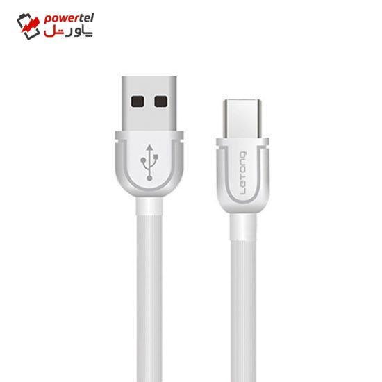کابل تبدیل USB به USB-C لیتانگ مدل LT-TPC-07 طول 2 متر
