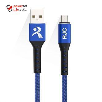 کابل تبدیل USB به micro آر جی سی مدل M5 طول 1 متر