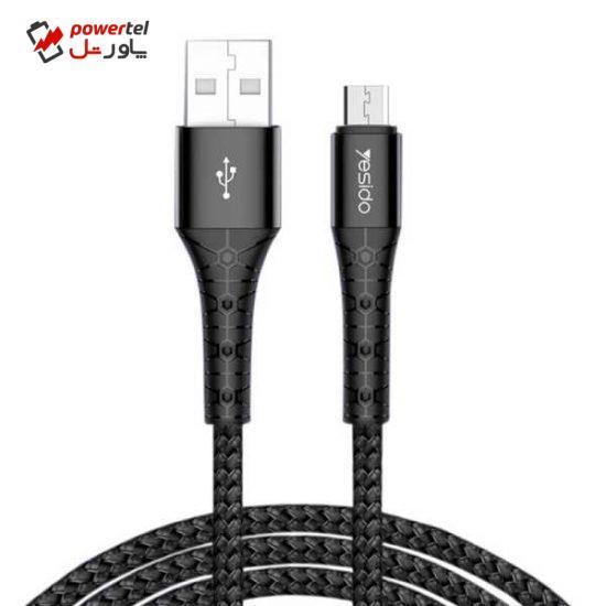 کابل تبدیل USB به  micro-USB یسیدو مدل CA50 طول 2 متر