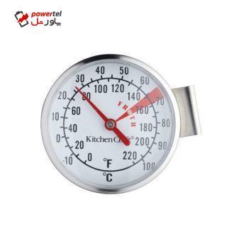 دماسنج شیر مدل KITCHEN CRAFT Milk Frothing Thermometer Stainless Steel
