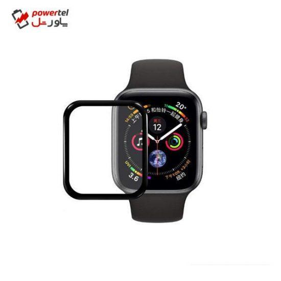محافظ صفحه نمایش شیشه ای مدل Tempered Glass 9H مناسب برای اپل واچ 44 میلی متر