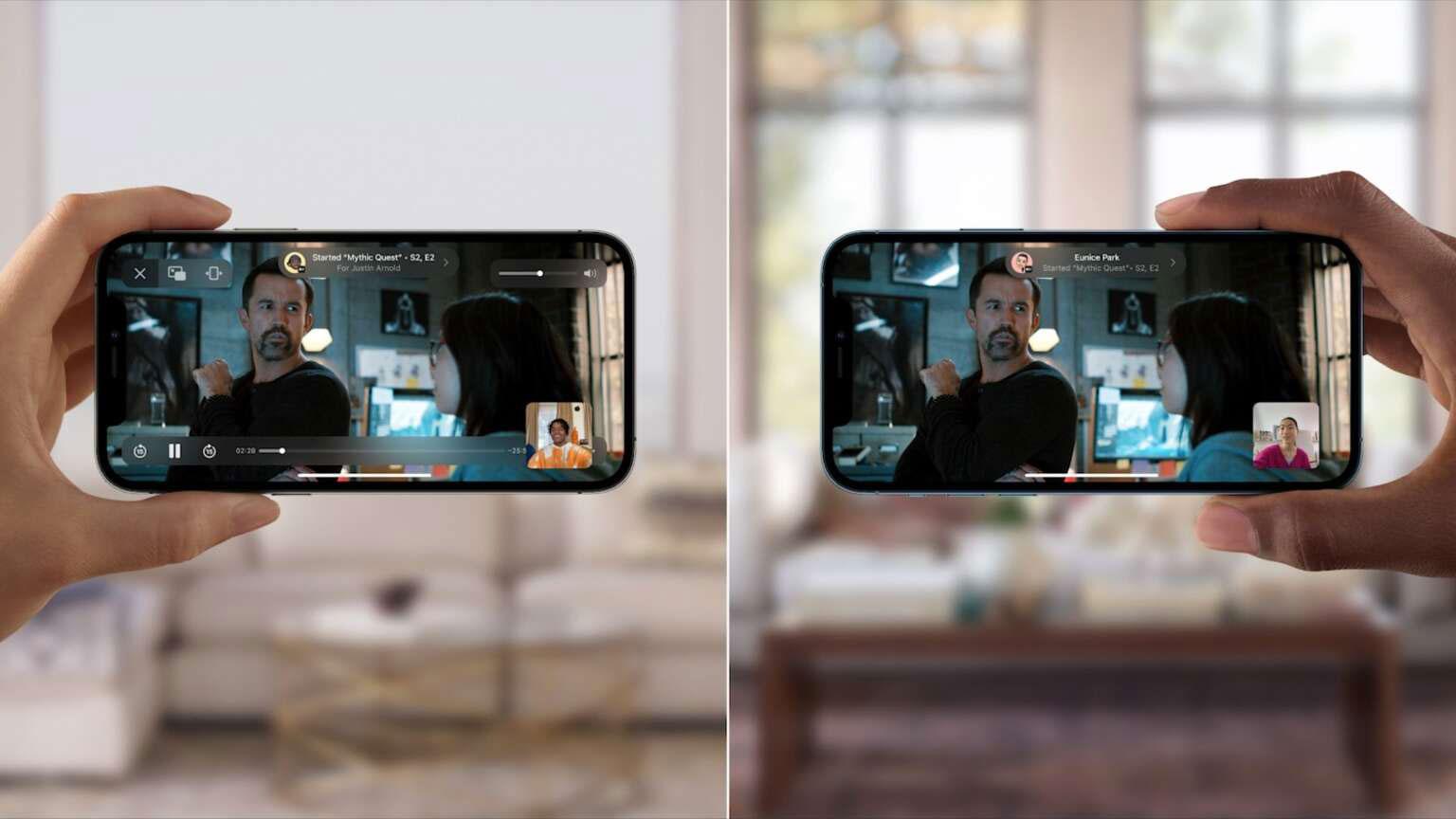 قابلیت SharePlay اپل iOS 15 رسما معرفی شد