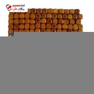 مهره چوبی مدل مکعبی بسته ۱۰۰ عددی