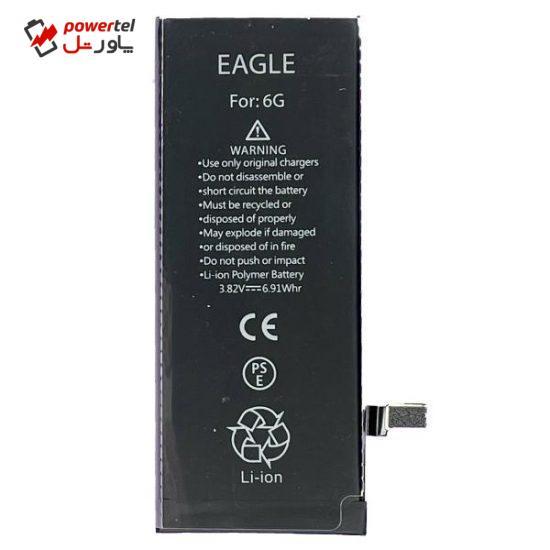 باتری موبایل ایگل مدل 1ICP4-6 ظرفیت 1810 میلی آمپر ساعت مناسب برای گوشی موبایل اپل iphone 6