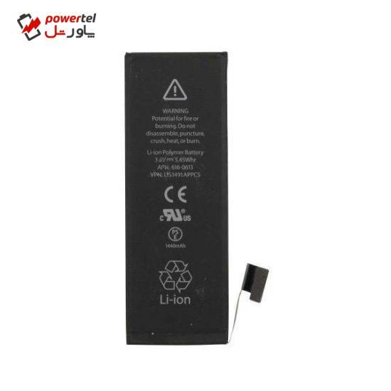 باتری موبایل مدل 616-0613TR ظرفیت 1440 میلی آمپر ساعت مناسب برای گوشی موبایل اپل iphone 5S