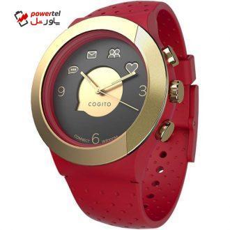 ساعت مچی هوشمند کانکت دیوایس مدل Cogito Fit Red Gold