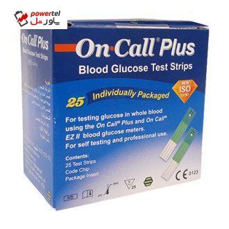 نوار تست قند خون مدل G133-115 بسته 25 عددی