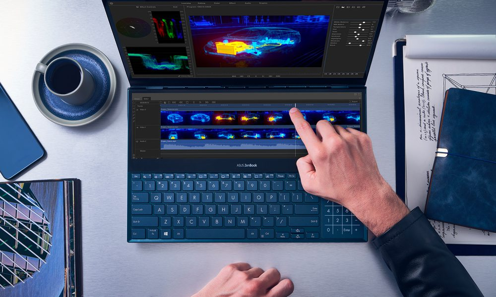 لپ تاپ های ایسوس سری zenbook duo