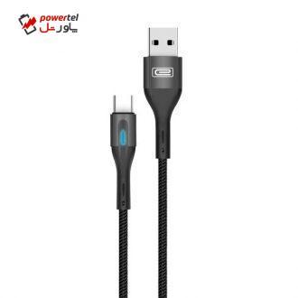 کابل تبدیل USB به USB-C ارلدام مدل EC-099C طول 1متر