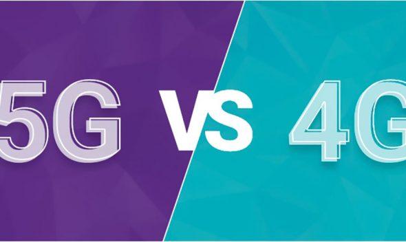 اینترنت 5G چقدر 4G سریعتر است؟