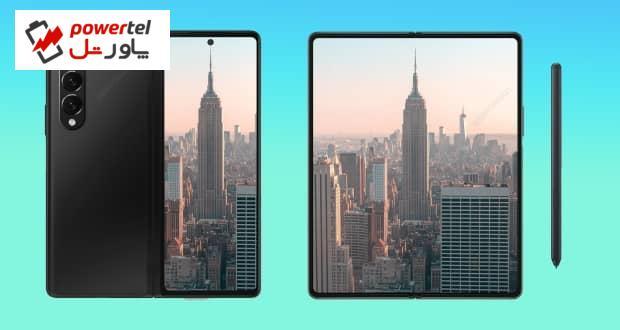 رندرهای جدید گوشی Galaxy Z Fold 3 سامسونگ منتشر شد
