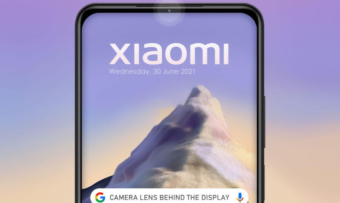فناوری متفاوت دوربین پشت نمایشگر شیائومی بدون نیاز به پنل شفاف