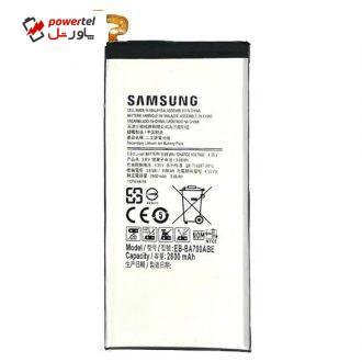 باتری موبایل مدل EB-BA700ABE ظرفیت 2600 میلی آمپر ساعت مناسب برای گوشی موبایل سامسونگ Galaxy A7