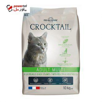 غذای خشک گربه فلاتازور مدل مرغ و سبزیجات وزن 10 کیلوگرم