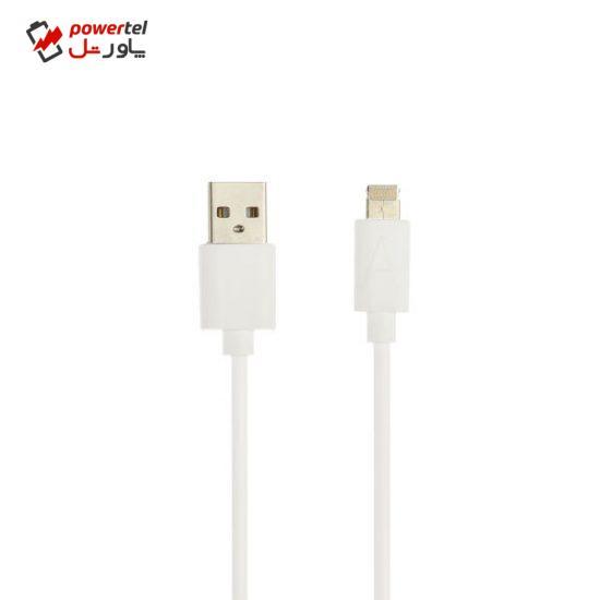 کابل تبدیل USB به لایتنینگ مدل LC2016 طول 1.2 متر
